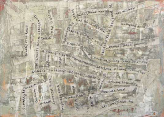 2017 Artists at Home Jane Price - Chiswick map 1