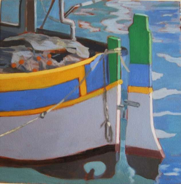 2017 Artists at Home Jill Revie - Sunny harbour
