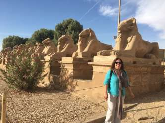 Bridget Osborne Filming in Egypt for the History of Africa with Zeinab Badawi 1
