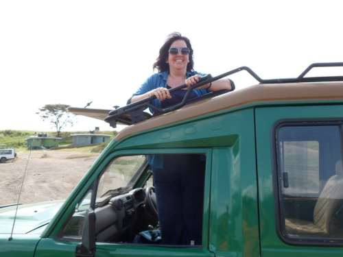 Bridget Osborne Filming in Tanzania 1