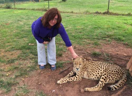 Bridget Osborne Time out in South Africa while filming for the History of Africa with Zeinab Badawi 3
