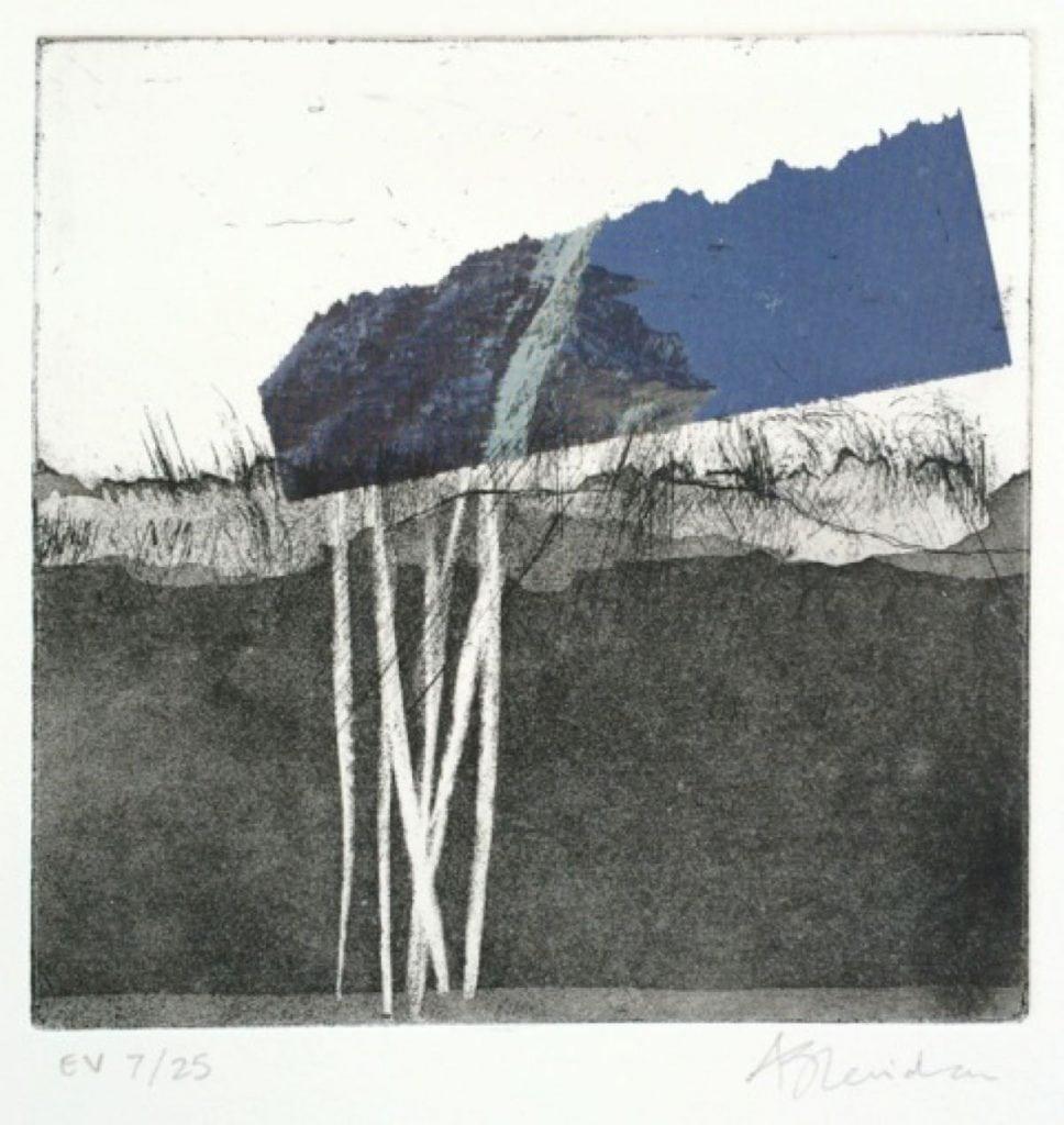 2015 Artists at Home Alice Sheridan 1, Blue Horizon VII