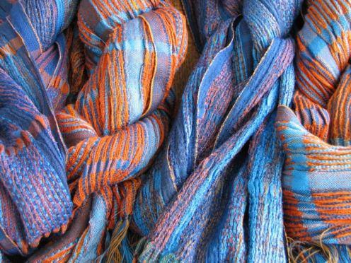 2015 Artists at Home Bobbie Kociejowski 4 scarves