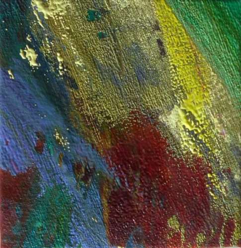 2015 Artists at Home Gala Bell 4, Oil on Silk