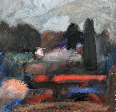 2015 Artists at Home George Christie 2, Osterley landscape