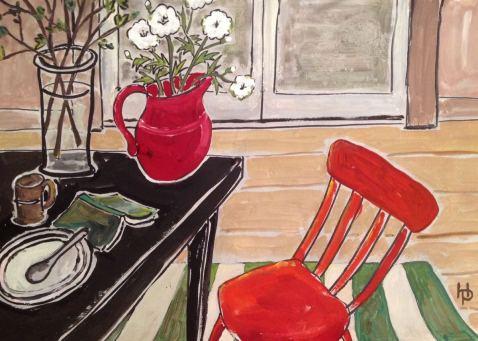 2015 Artists at Home Henrietta Parsons 4, After Breakfast