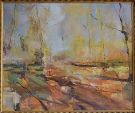 2015 Artists at Home Humphrey Bangham 3, Hornbeams in Richmond Park