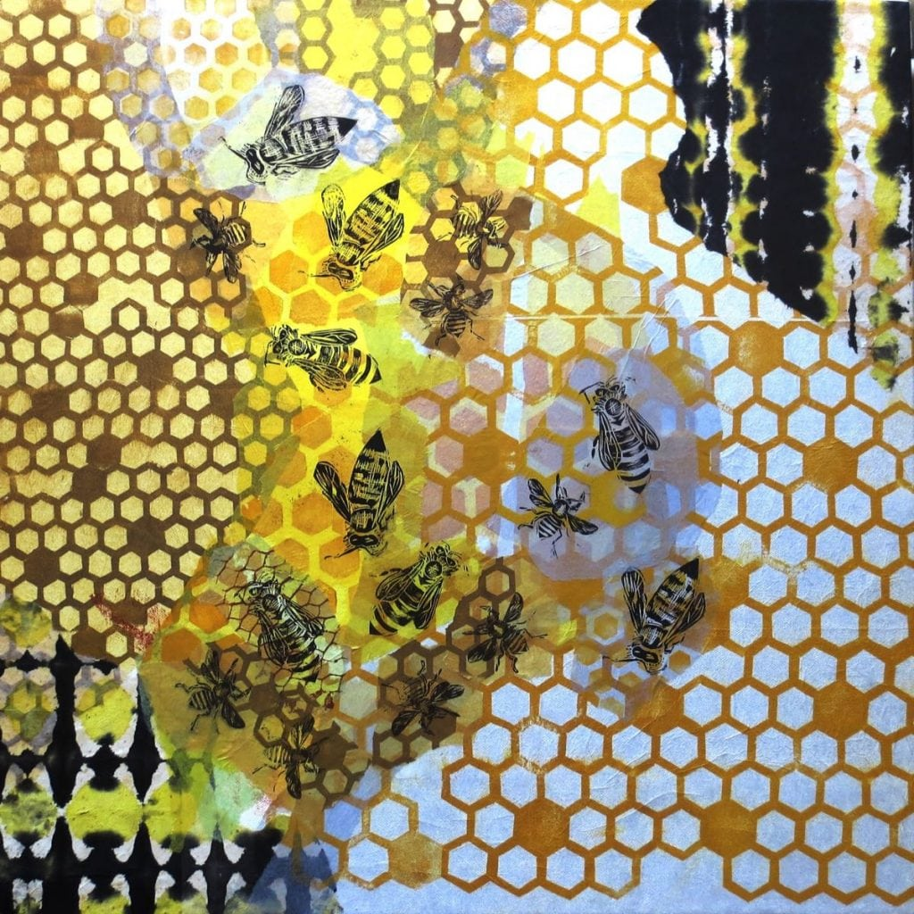 2015 Artists at Home Tania Beaumont 3, Hive