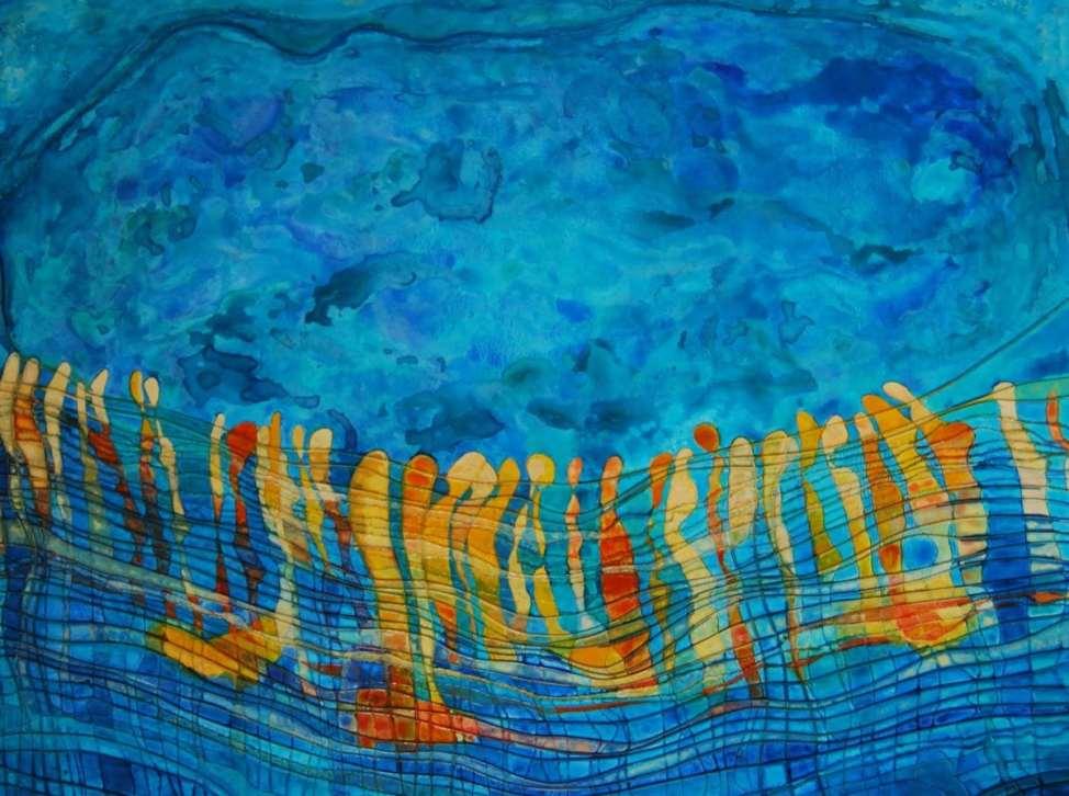 2016 Artists at Home Jenny Price, Floodplain2