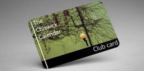 The Chiswick Calendar Club Card