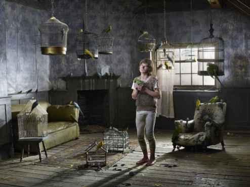 Feral Children, Prava, The Bird Boy, Russia - Julia Fullerton-Batten