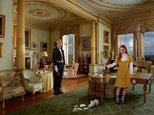 In Service, The Butler and the Princess - Julia Fullerton-Batten