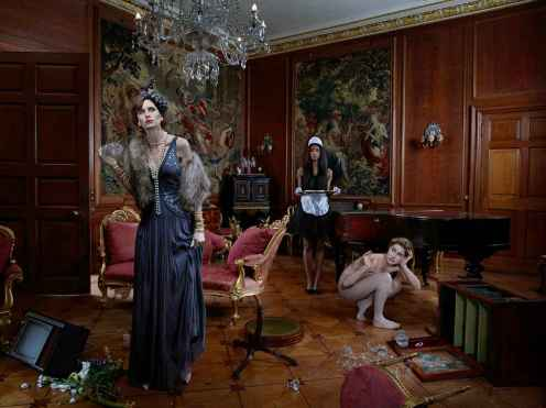 In Service, The Housemaid - Julia Fullerton-Batten