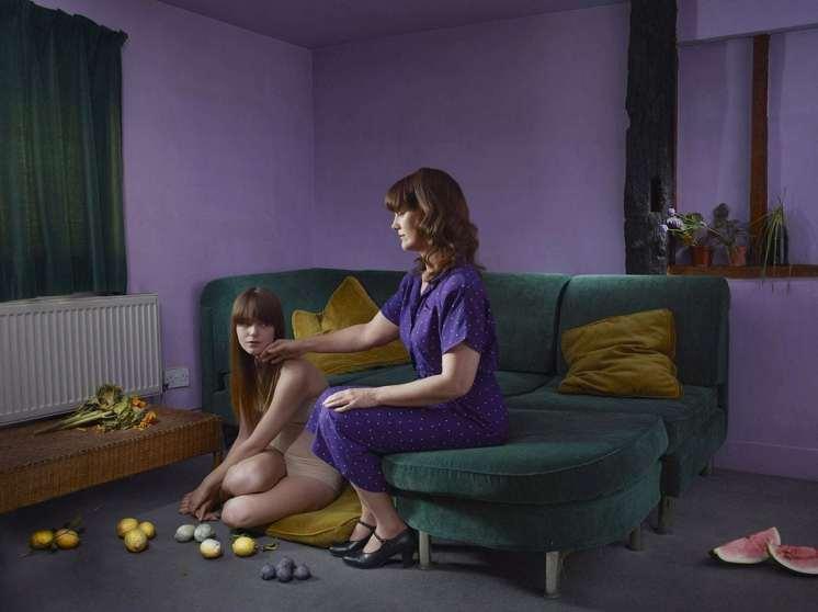 Mothers & Daughters, The Divorce - Julia Fullerton-Batten