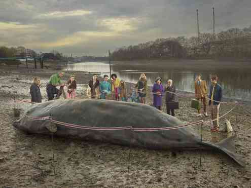 Old Father Thames, The Whale - Julia Fullerton-Batten