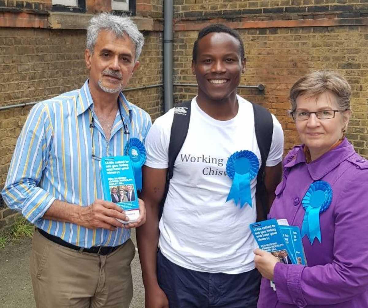 Joanna Biddolph blog 1 - candidates campaigning
