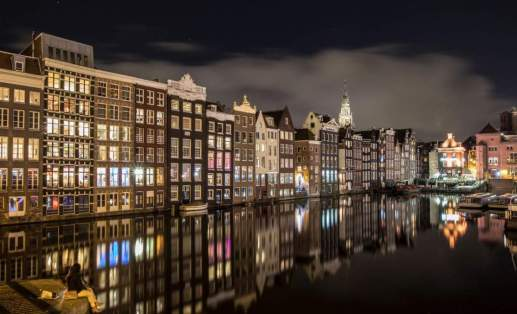 Anna Kunst's Reflections picture of Amsterdam