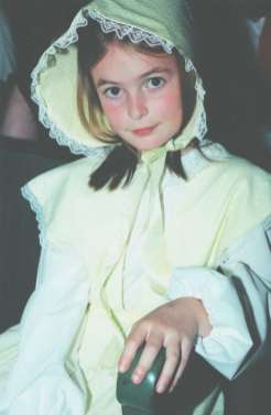 Milly Forrest as a child in Oliver