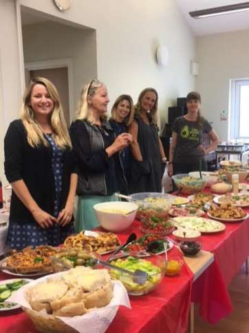 Age Concern summer buffet 1
