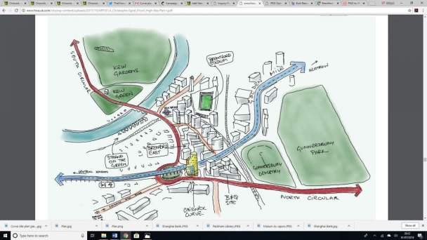 Christophe Egret's drawing of how Brentford east will look jpeg web image