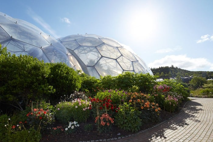 Biodome at the Eden Project - web