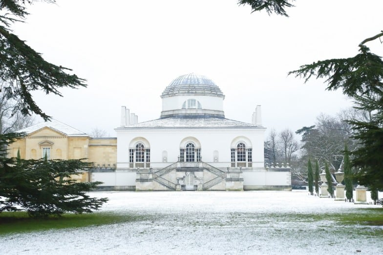 Chiswick House in snow - Jon Perry - web