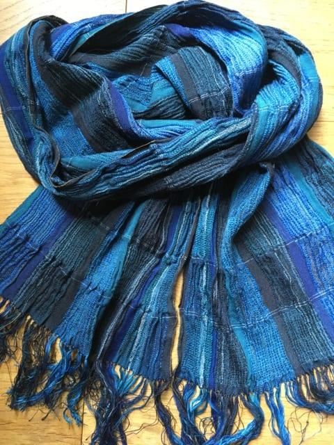 Silk & Wool Scarf by Bobbie Kociejowski