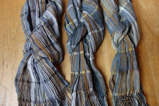 Silk & Wool Scarves by Bobbie Kociejowski