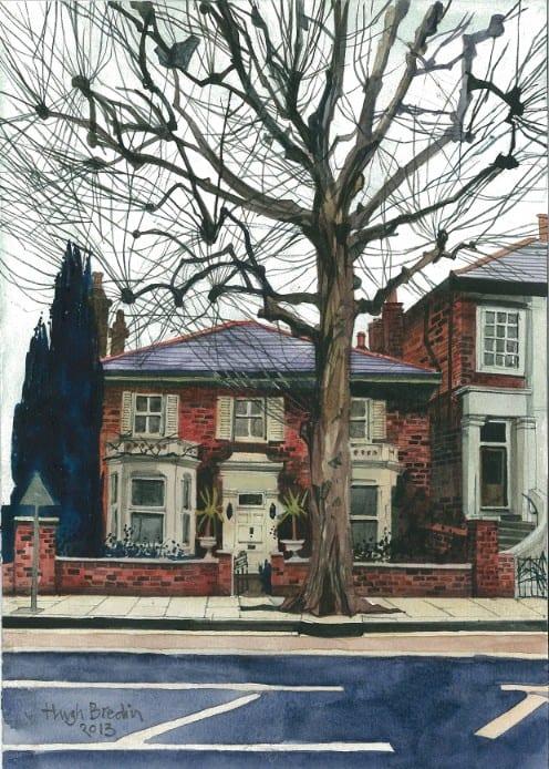 House, Goldhawk Road, West London by Hugh Bredin
