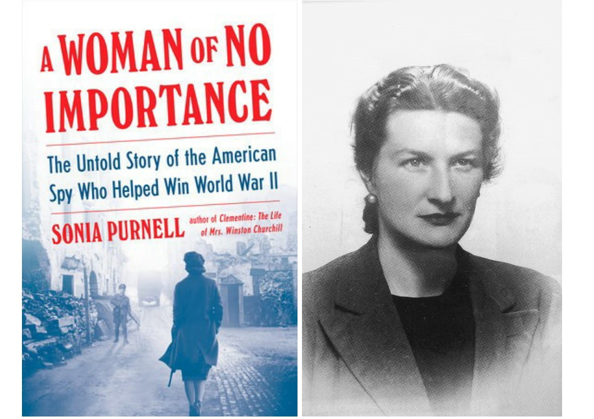 A Woman of No Importance book cover + portrait-2