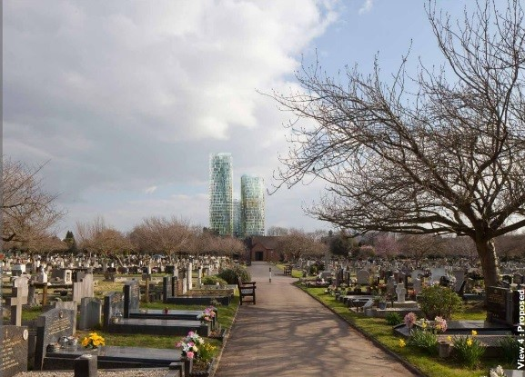 Chiswick-Curve-from-cemetery