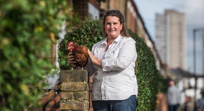 Hen Corner Owner