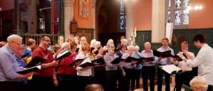 Hogarth Singers in concert July 2018
