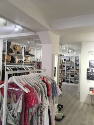 Boutique by Shelter chiswick inside shop