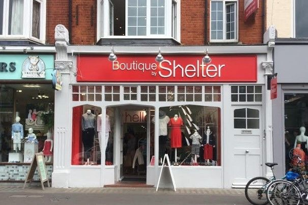 Boutique by Shelter shop front chiswick