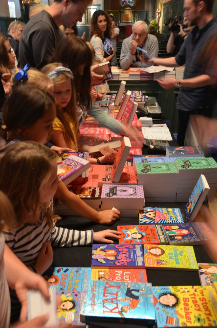 Children's author Jacqueline Wilson's readers