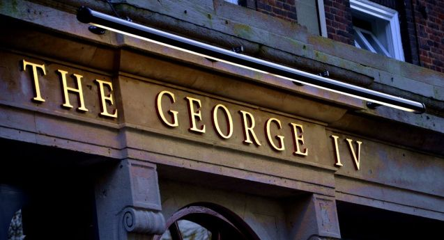 Gallery 0 George IV sign