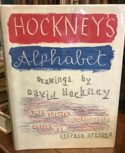 Stephen Spender Alphabet with drawings by David Hockney__web