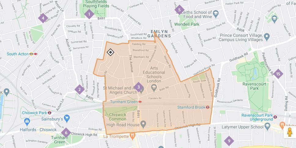 Capture map of SMAAA parish