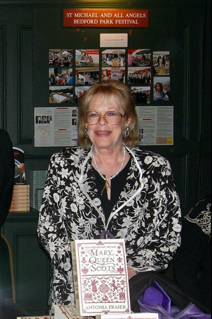 Lady Antonia Fraser 2009 First Book Festival
