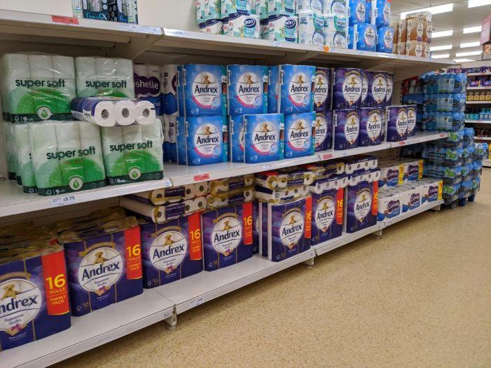 Sainsbury's 2 loo roll shelves