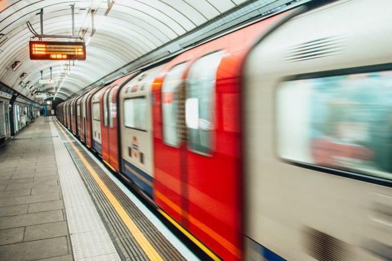 Tube-train-home