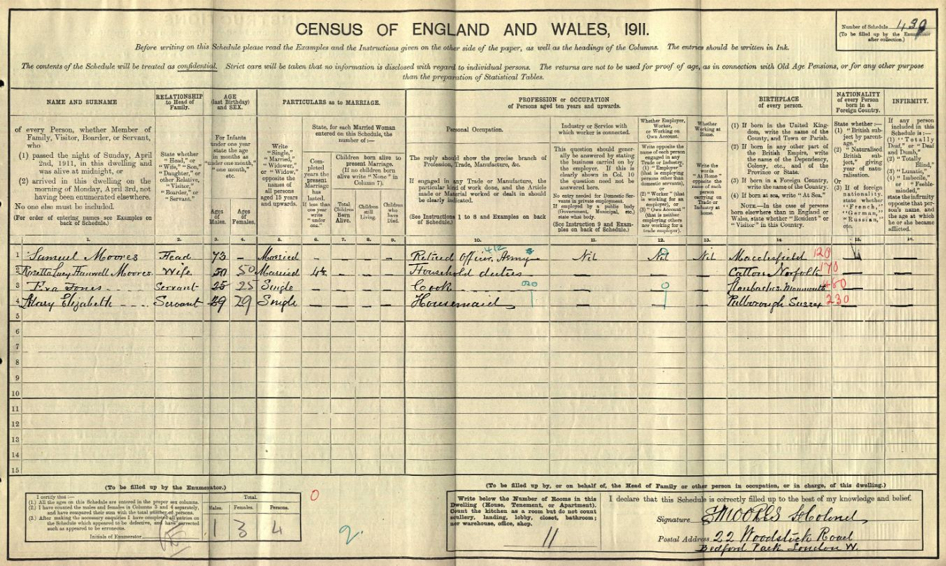 Census 1911 Samuel Moores Woodstock Road (1)_web