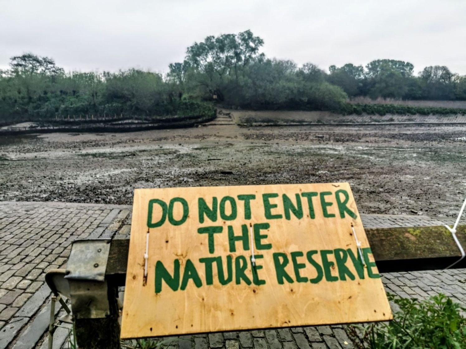 No Not Enter the Nature Reserve