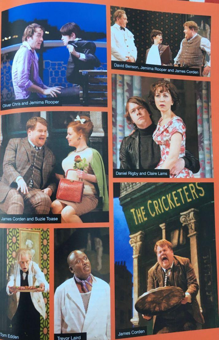 One Man Two Guvnors programme 2+web
