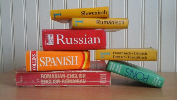 Various language dictionaries