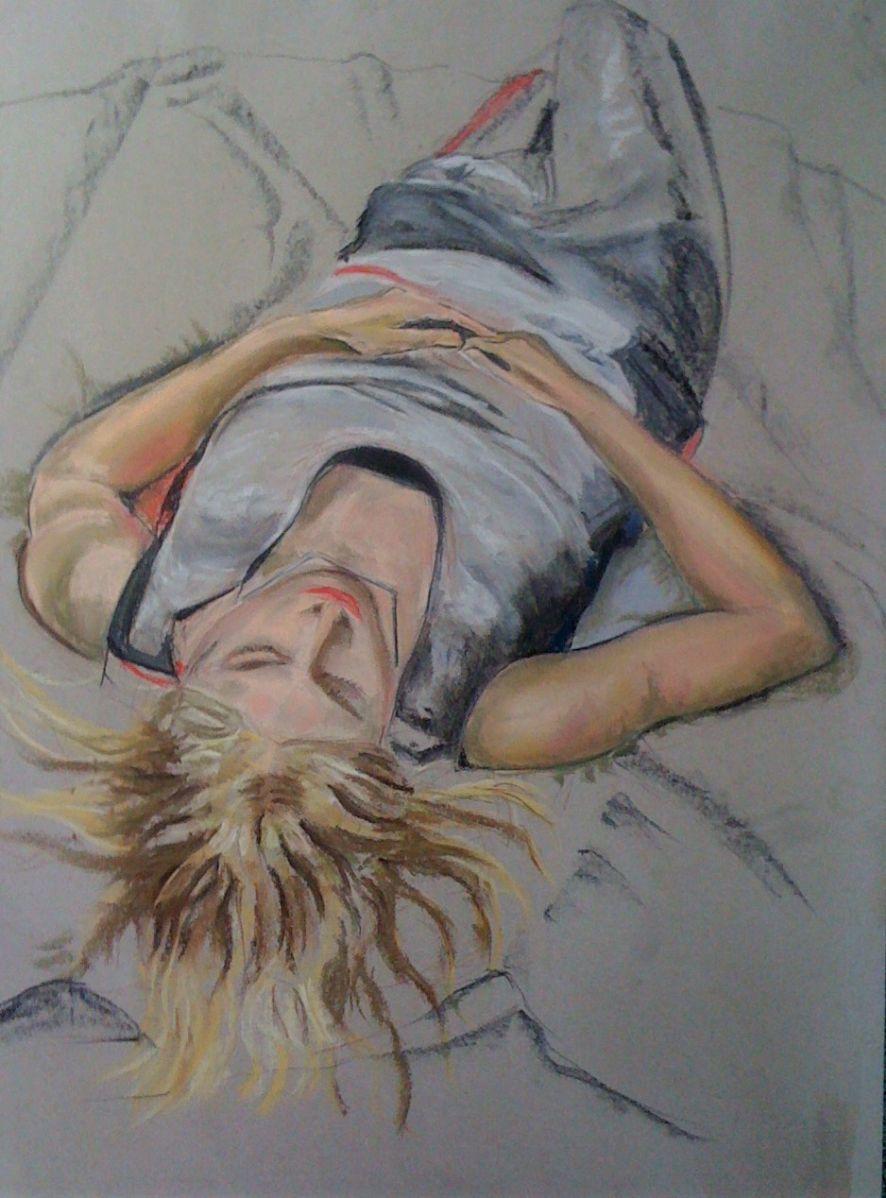 Alan Denney - Susie reclining