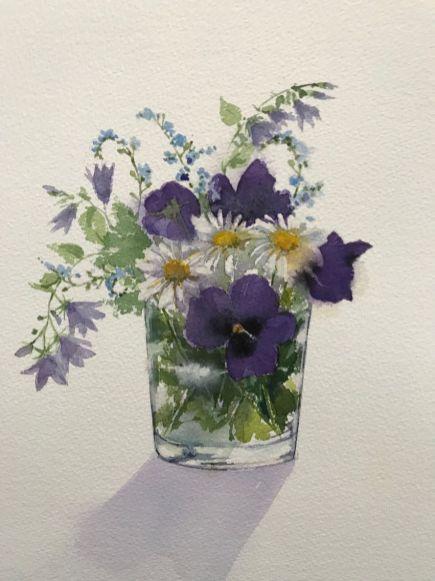 Linda Cox - A Garden Posey