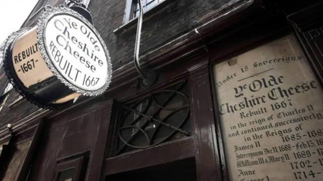 8 September - Ye Olde Cheshire Cheese