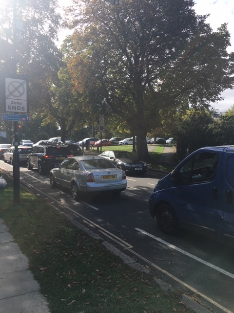 Traffic accicent in Grove Park 9 September 3